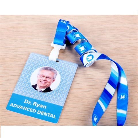 "5/8""(15mm) Full Color Lanyards with PVC ID Card-A8L9"